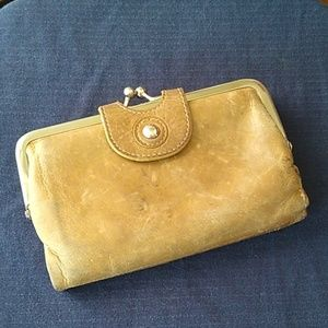 Hobo leather small wallet